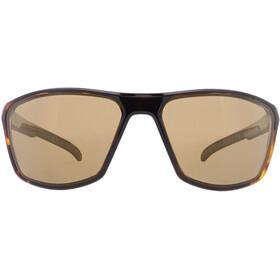 Red Bull SPECT Raze Sunglasses Men, shiny havanna/brown-light bronze mirror